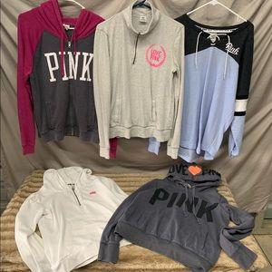 PINK Sweatshirt Bundle